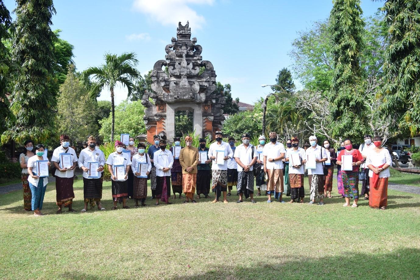 new normal certifcate Bali
